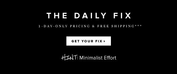 The Daily Fix 1-Day-Only Pricing + Free Shipping** - - Get Your Fix