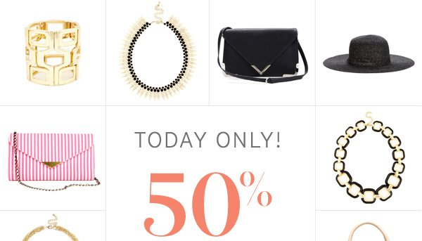 50% Off Today Only!