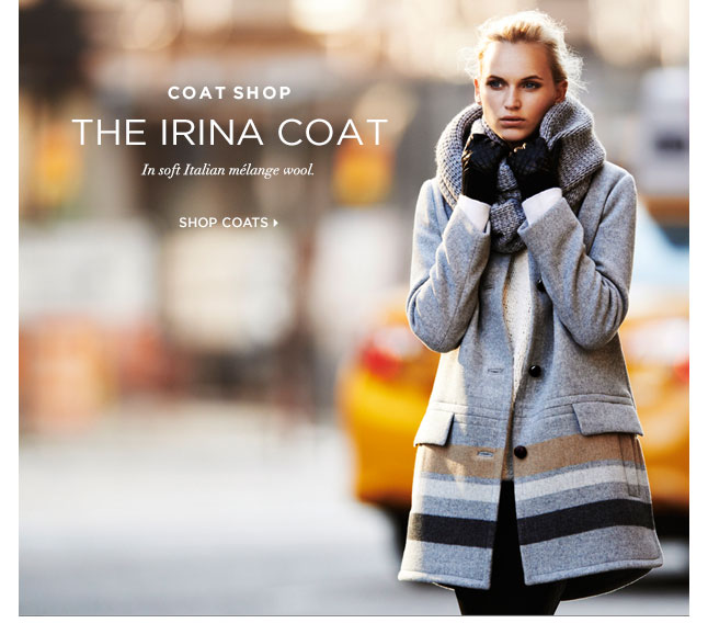 The Irina Coat: A New Take On Italian Wool