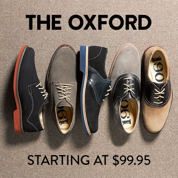 THE OXFORD - STARTING AT $99.95