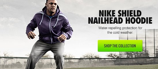 NIKE SHIELD NAILHEAD HOODIE | SHOP THE COLLECTION