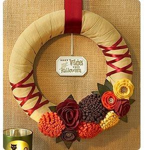 Handmade Harvest Wreath - 11