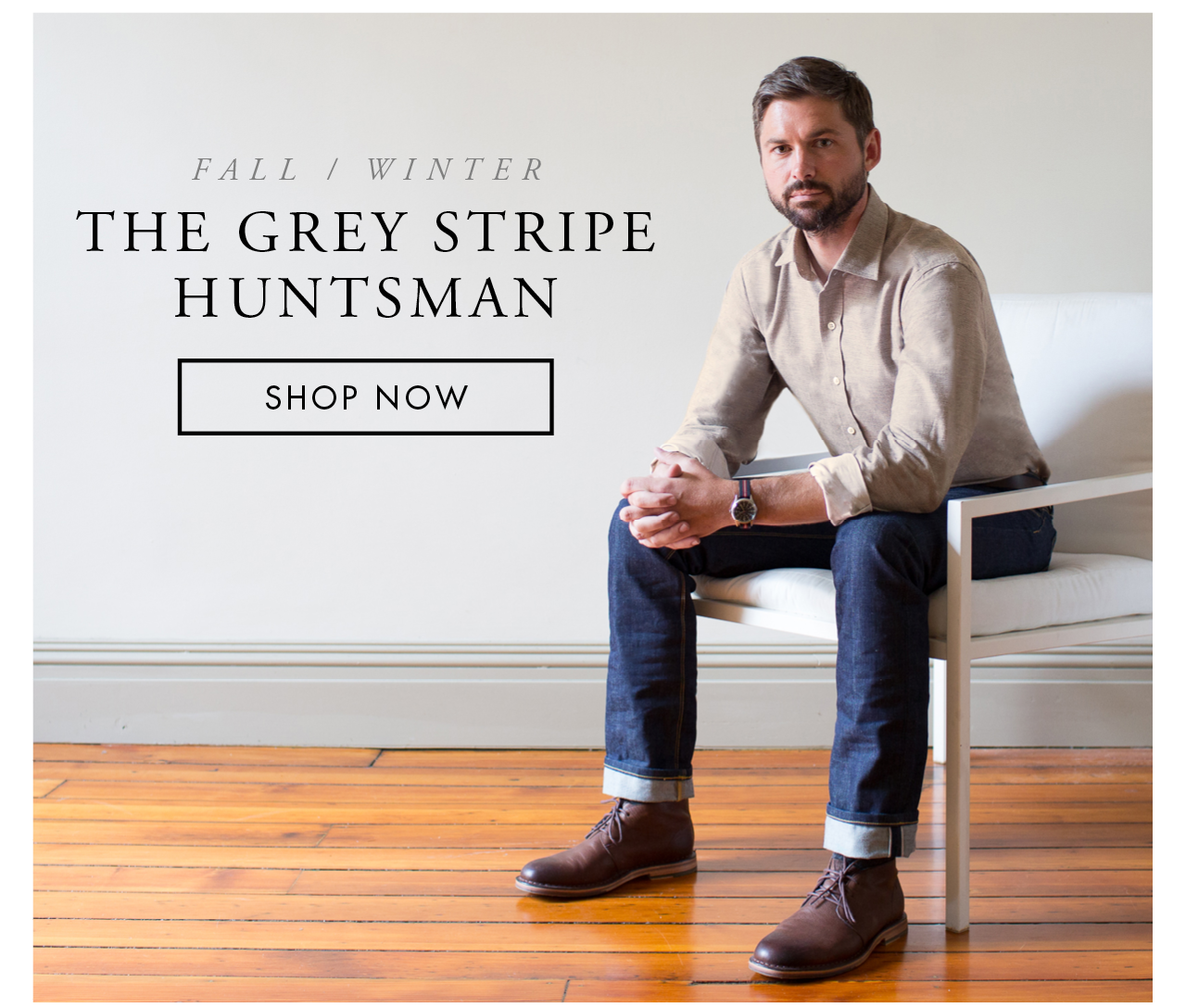 The Grey Stripe Hunstsman