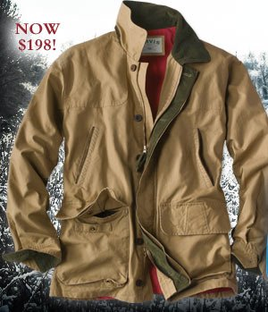 Men's Orvis Heritage Field Coat. Was $250, NOW $198