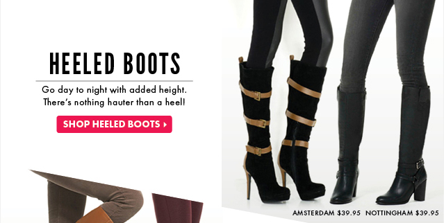 Shop Heeled Boots!