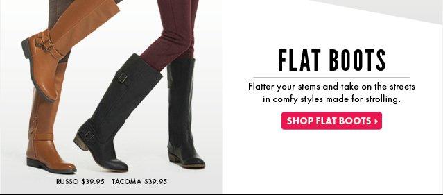 Shop Flat Boots!
