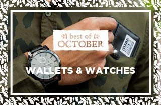 Best Of October: Wallets & Watches