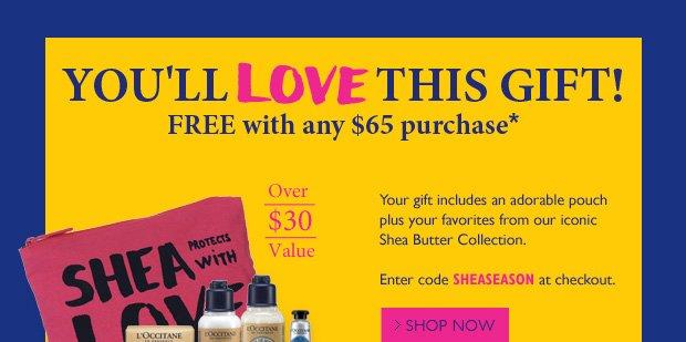 You'll L'OVE This Gift! Use Code Sheaseason at Checkout