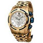 Invicta 14426 Men's Jason Taylor Reserve Blue Cable Wire Bezel Silver Dial Watch