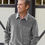 Men's Velour Shirt, #609671