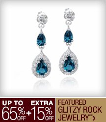 Up to 65% off + Extra 15% off Featured Glitzy Rock Jewelry**