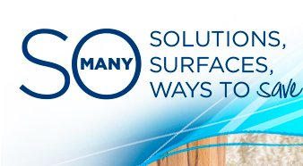 SO MANY SOLUTIONS, SURFACES, WAYS TO save