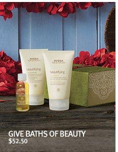 give baths of beauty
