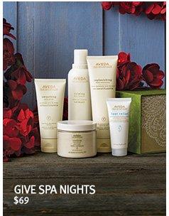 give spa nights