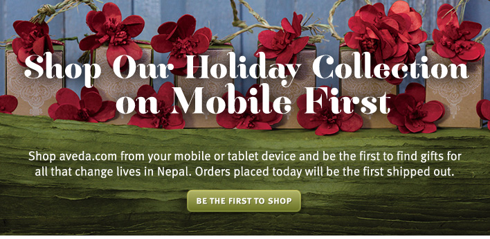 shop our holiday collection on mobile first. be the first to shop.