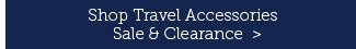 Shop Travel Accessories Sale and Clearance.
