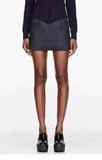 J.W.ANDERSON Slate neoprene Mini Skirt for women