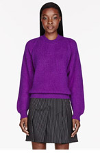 STELLA MCCARTNEY Violet Alpaca-Cashmere sweater for women