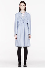 ACNE STUDIOS Lavender Wool Dust Melton coat for women