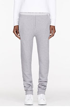 SILENT BY DAMIR DOMA Grey knit Peca Lounge Pants for women