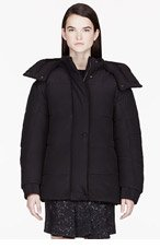 STELLA MCCARTNEY Black silk quilted Laura Jacket for women