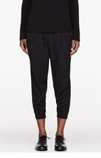 HELMUT HELMUT LANG Black Nexa Harem Pants for women
