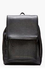 MARNI Black Leather Backpack for women