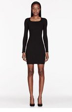 HELMUT HELMUT LANG Black Knit Gala Dress for women