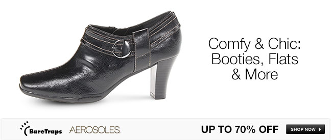 Comfy and Chic: Booties, Flats & More