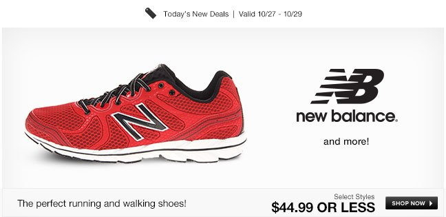 The perfect running and walking shoes!