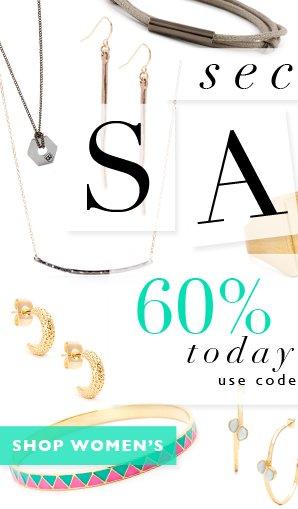 Shhh...Secret SALE | 60% OFF Today Only!