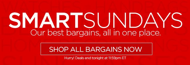 SmartSunday - Our Best Bargains