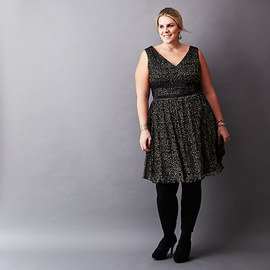 Holiday Glam: Plus-Size Dresses