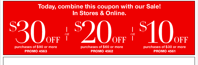 Combine this coupon with our sale!