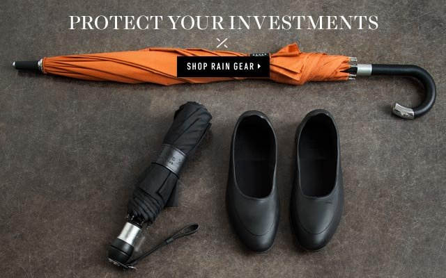 Protect Your Investments. Shop Rain Gear >