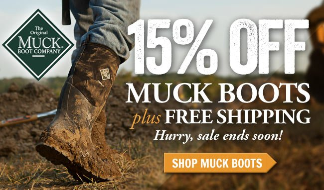 15% Off Muck Boots This Week!
