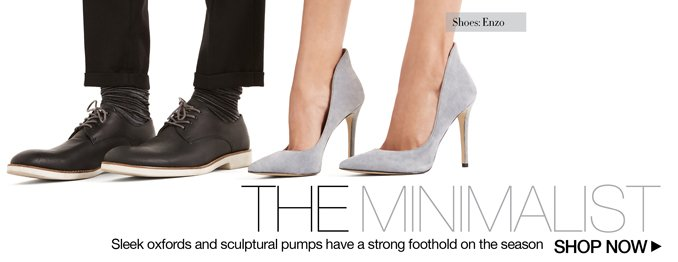 Shop The Look - Minimalist Shoes