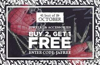 Best of October: Jewelry & Accessories