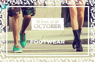 Best of October: Footwear