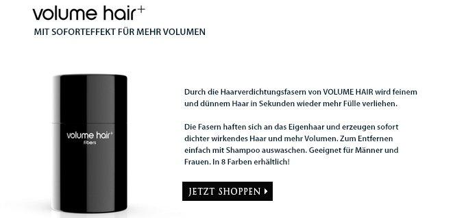 Volume Hair - Mit Soforteffekt für mehr Volumen