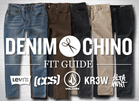 Denim and Chino Fit Guide