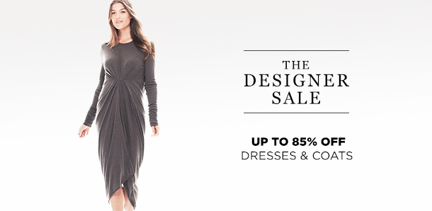 Up to 85% Off: Dresses & Coats