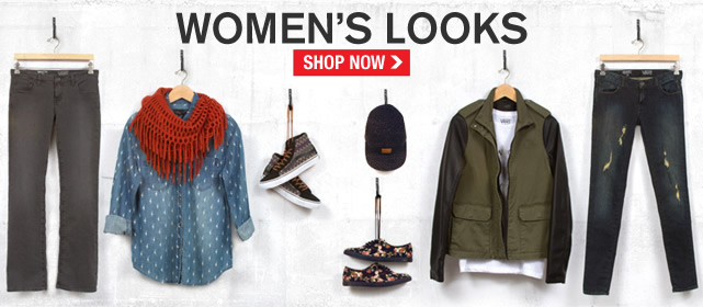Shop New Womens Looks!