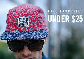 Shop Fall Favorites Under $25
