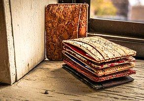 Shop Wallets & Belts ft. Cork Card Cases