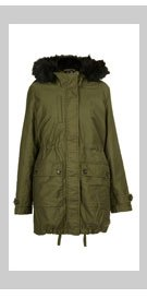 Borg Lined Clean Parka