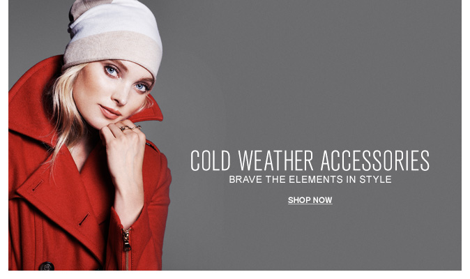 Shop Women's Cold Weather Accessories