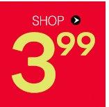 Shop $3.99 Deals