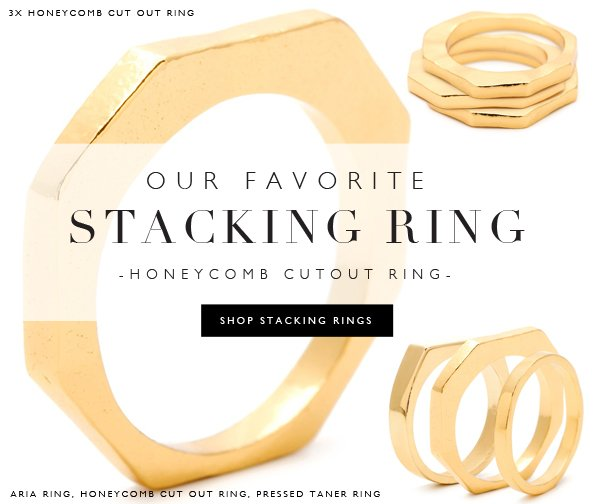 Our Favorite Stacking Ring