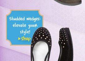 Studded wedge